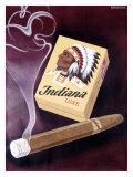Indiana Luxe Giclee Print by  Ruegsegger