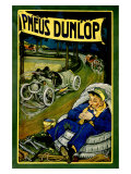 Dunlop-Reifen Giclée-Druck von Georges Gaudy