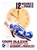 12 Heures de Paris, Coupe Olazur Giclee Print by Geo Ham