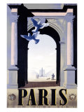 Paris Giclee Print by Adolphe Mouron Cassandre
