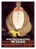 Waschemagazine Metzger Giclée-tryk af Charles Loupot