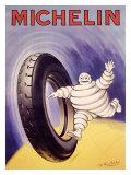 Michelin-Reifen Giclée-Druck von Gilbert Philibert