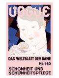 """Vogue: """"Das Weltbild der Dame"""" Giclée-Druck von Georges Lepape"""
