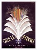 Orell Fussli Giclée-Druck von Charles Loupot