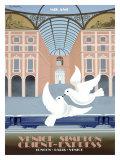 Milano Orient Express Giclee Print by Pierre Fix-Masseau