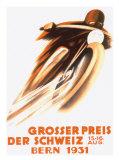 Grand Prix Moto de Suisse, Berne, 1931 Reproduction procédé giclée par Ernst Ruprecht