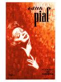 Edith Piaf Reproduction procédé giclée par John Douglas