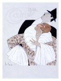 Bal de la Couture Maquette Impressão giclée por Georges Lepape