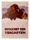 Besochet Den Tiergarten Giclée-Druck von Ludwig Hohlwein