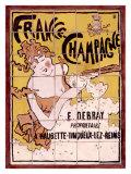 Francia, Champán, Baldosas Lámina giclée por Pierre Bonnard