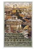 VIII Esposizone International Venezia Gicléetryck av Augusto Sezanne