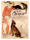 Clinique Cheron Giclée-vedos tekijänä Théophile Alexandre Steinlen