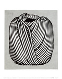 Ball of Twine, Garnnøgle, 1963 Kunst af Roy Lichtenstein