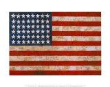 旗, 1954-55 ポスター : ジャスパー・ジョーンズ