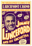 Jimmie Lunceford and His Orchestra at the Larchmont Casino Prints by Dennis Loren