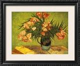 Vases De Fleurs Print by Vincent van Gogh