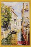 Reclameposter Venetië met gondelier Posters
