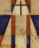 Die Kraft des GebetsI (englischer Text) Kunst von William Verner