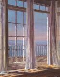 Sea Breeze II Print by Carol Saxe