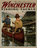 Winchester Fishing Tackle Blikkskilt