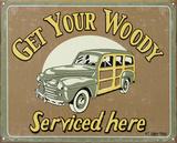 Woody Service Blikskilt