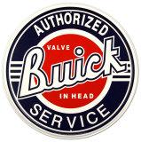 Buick Service Plaque en métal