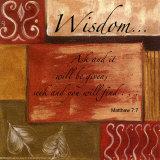 Words to Live By, Wisdom Kunstdrucke von Debbie DeWitt
