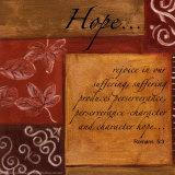 Words to Live By, Hope Láminas por Debbie DeWitt