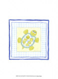 Turtle with Plaid IV Prints by Megan Meagher