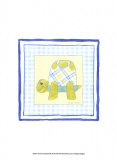 Turtle with Plaid III Poster by Megan Meagher