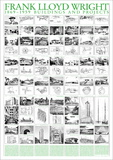 Buildings and Projects, 1869-1959 高品質プリント : フランク・ロイド・ライト