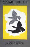 Lithographie, 1973 Reproduction pour collectionneur par Georges Braque