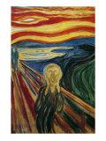 Skriget Plakat af Edvard Munch