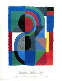 Viertel , 1968 Plakater av Sonia Delaunay-Terk