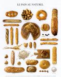 Natural Bread Prints