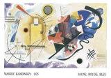 Jaune, Rouge, Bleu, 1925 Prints by Wassily Kandinsky