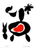 Untitled, January 14, 1947 Kunst av Joan Miró