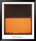 無題(ナンバー18), 1963 ポスター : マーク・ロスコ