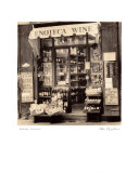 Weinhandlung, Toskana Poster von Alan Blaustein