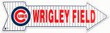 Terrain de Wrigley, Chicago Plaque en métal