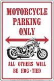 Motorcycles Tin Sign
