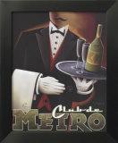 Club de Metro Poster von Michael L. Kungl
