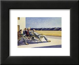 People in the sun Posters af Edward Hopper