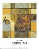 Journeys II Prints by Niro Vasali