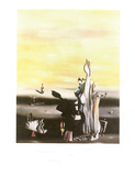 Dame a L'Absence Poster af Yves Tanguy