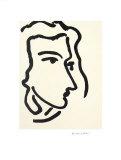 Nadia Regardant A Droite, Femme III Kunst av Henri Matisse