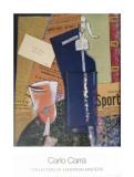 Sifone Di Seltz Posters av Carlo Carra