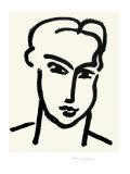 Grande Tete De Katia Affischer av Henri Matisse