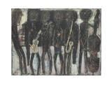 Jazz Band Plakater af Jean Dubuffet