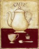 Café et petit gâteau Affiches par G.p. Mepas